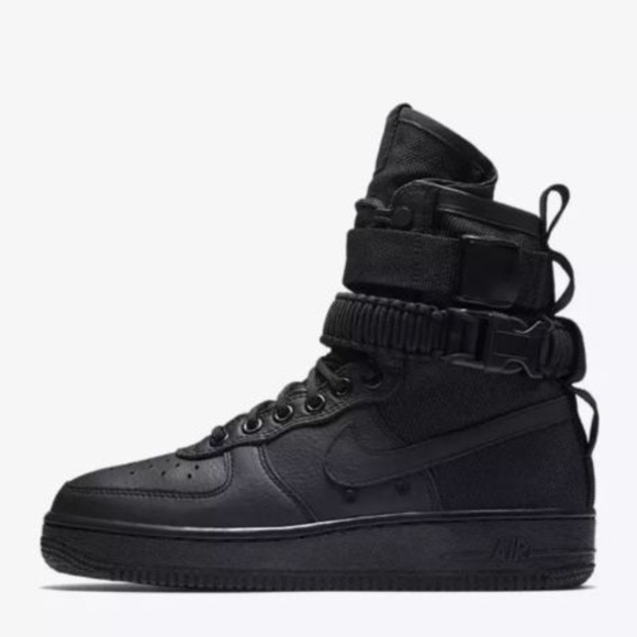 Air Force 1 AF1 Special Field Black High Tops NEW NWT